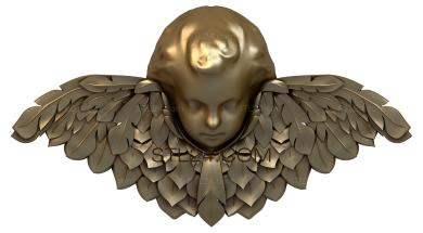 Angels (AN_0012) - 3D model for CNC