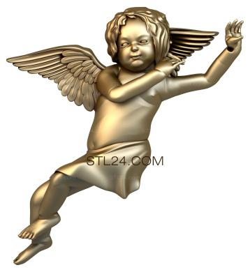 Angels (AN_0015) - 3D model for CNC