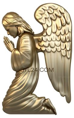 Angels (AN_0020) - 3D model for CNC
