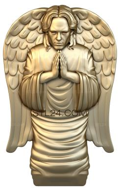 Angels (AN_0023) - 3D model for CNC