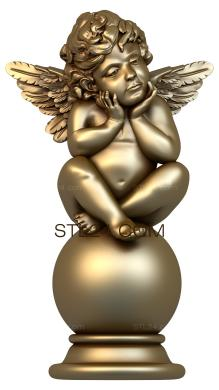 Angels (AN_0025) - 3D model for CNC