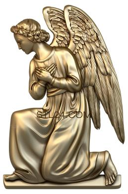 Angels (AN_0044) - 3D model for CNC