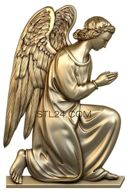 Angels (AN_0045) - 3D model for CNC