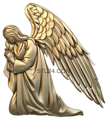 Angels (AN_0049) - 3D model for CNC