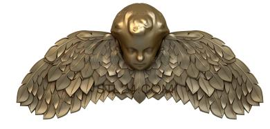 Angels (AN_0056) - 3D model for CNC