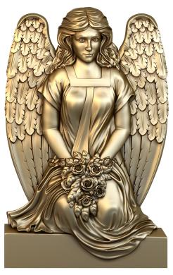 Angels (AN_0057) - 3D model for CNC