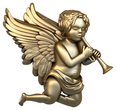 Angels (AN_0002) - 3D model for CNC