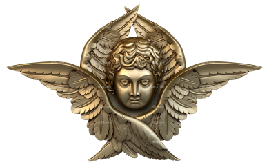 Angels (AN_0003) - 3D model for CNC