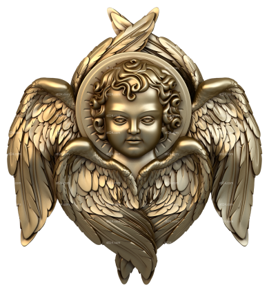 Angels (AN_0006) - 3D model for CNC