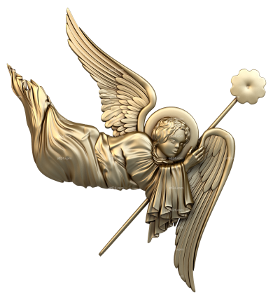 Angels (AN_0008) - 3D model for CNC