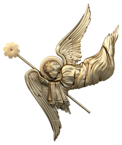 Angels (AN_0009) - 3D model for CNC