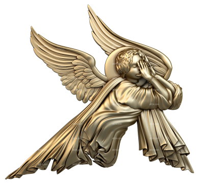 Angels (AN_0010) - 3D model for CNC