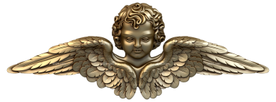 Angels (AN_0014) - 3D model for CNC