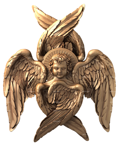 Angels (AN_0019) - 3D model for CNC