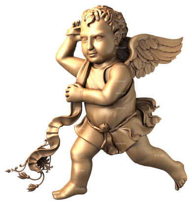 Angels (AN_0022) - 3D model for CNC
