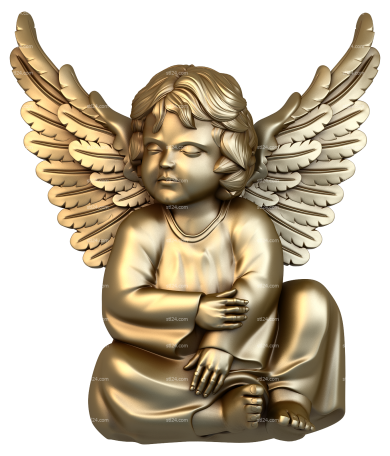 Angels (AN_0026) - 3D model for CNC