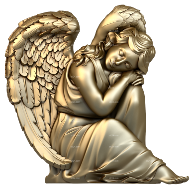 Angels (AN_0030) - 3D model for CNC