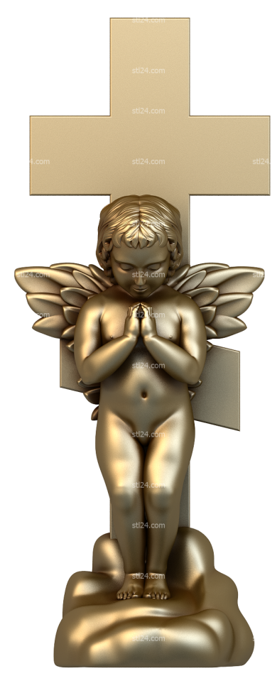 Angels (AN_0031) - 3D model for CNC