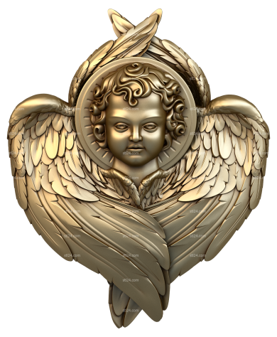Angels (AN_0038) - 3D model for CNC