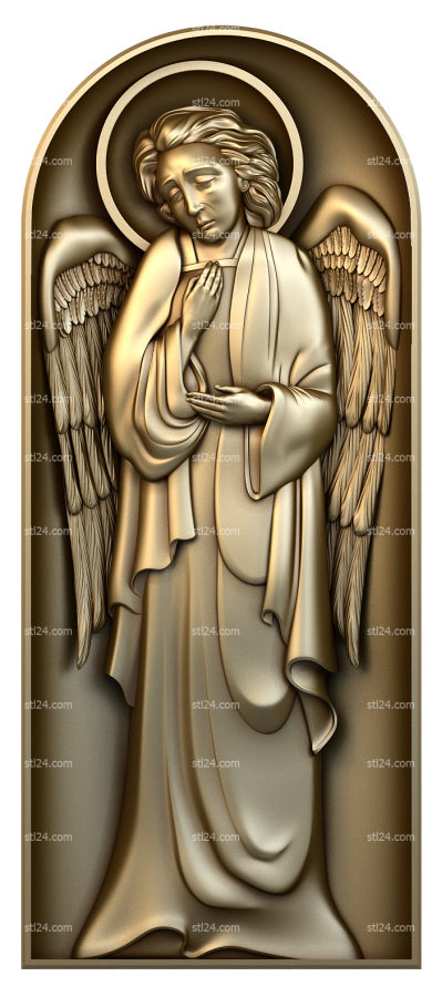 Angels (AN_0048) - 3D model for CNC