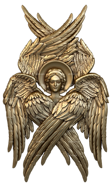 Angels (AN_0054) - 3D model for CNC