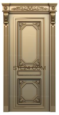 Doors (DVR_0060) - 3D model for CNC