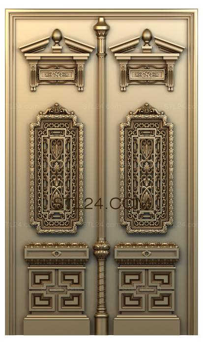 Doors (DVR_0129) 3D models for cnc