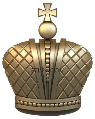 Coat of arms (GR_0001) - 3D model for CNC