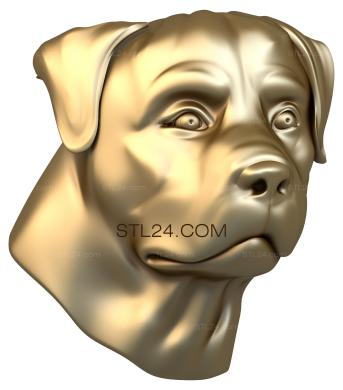 Animals (JV_0055) - 3D model for CNC