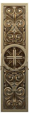 Church panel (PC_0013) - 3D model for CNC