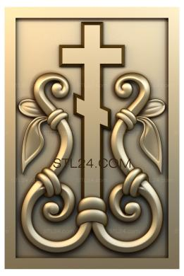 Church panel (PC_0068) - 3D model for CNC