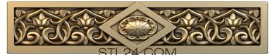 Church panel (PC_0070) - 3D model for CNC