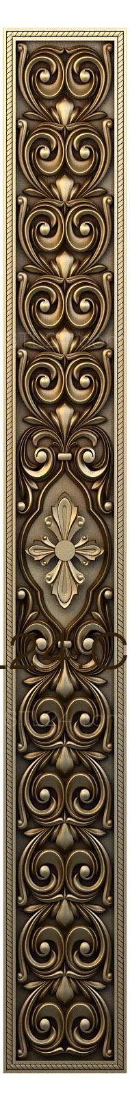 Church panel (PC_0084) - 3D model for CNC