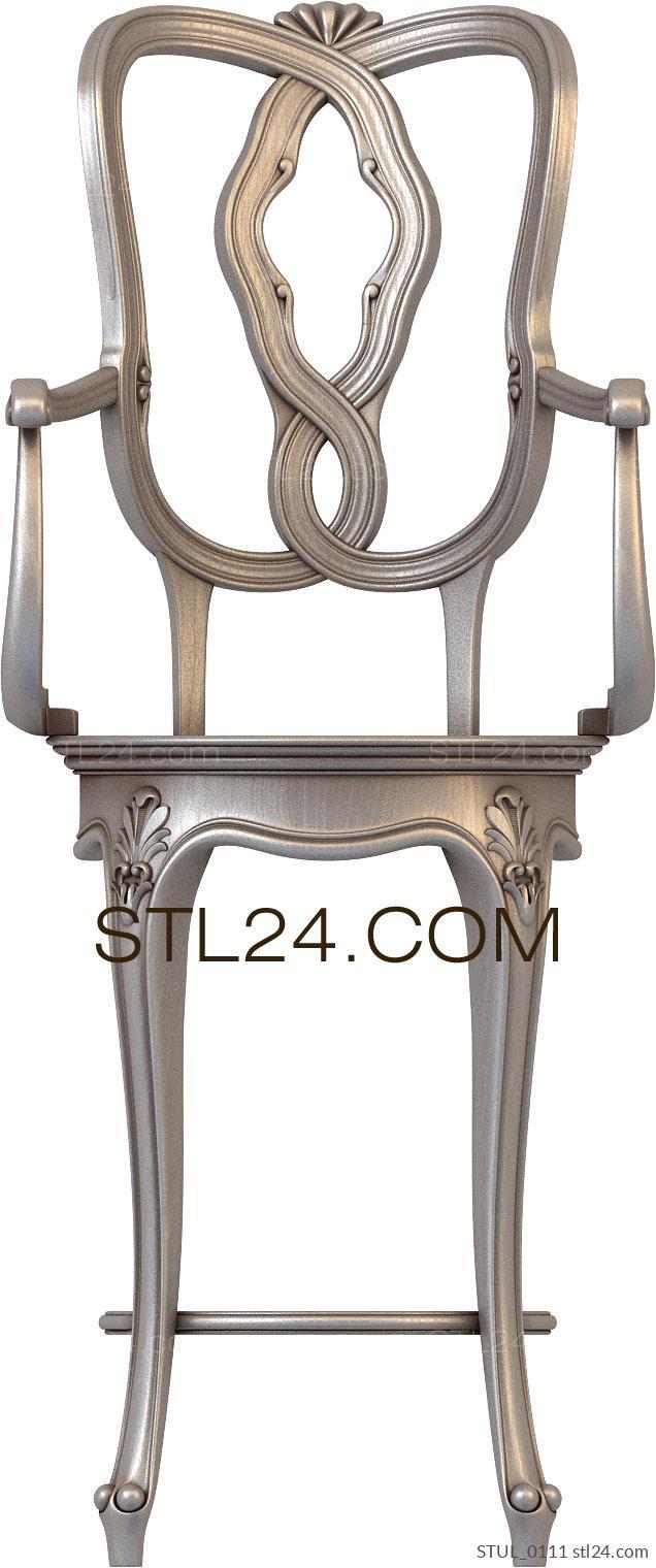 модель стула в стиле модерн